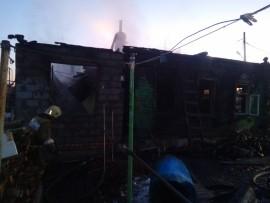 На пожаре в пос. Управленческий в Самаре погибли двое