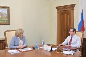 Дмитрий Азаров встретился с уполномоченным по правам человека в Самарской области