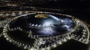 Для удобства болельщиков, прибывающих на личном транспорте, будет работать бесплатная Северная парковка стадиона