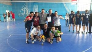 Росгвардейцы - сильнейшие волейболисты Самары