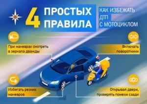 Самарцам советуют, как избежать ДТП с мотоциклом Советы дает ГУ МЧС по Самарской области.
