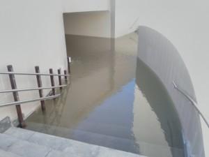 Потоп в подземном переходе у «Самара Арены» ликвидировали