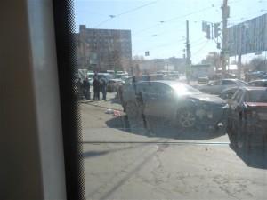 Шесть машин столкнулись из-за пьяного водителя на ул. Тухачевского в Самаре По предварительным данным, обошлось без пострадавших.