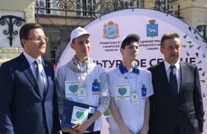 Сегодня на вопросы анкеты ответил губернатор Дмитрий Азаров и главный Федеральный инспектор по СО Владимир Купцов.