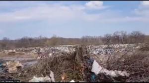 Для объективного анализа информации об организации несанкционированной свалки отходов в национальном парке «Самарская Лука» было организовано комиссионное обследование территории села Рождествено.