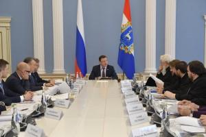 Обсудили текущие вопросы взаимодействия, а также подготовку к визиту Патриарха Московского и всея Руси Кирилла, запланированному на осень этого года.