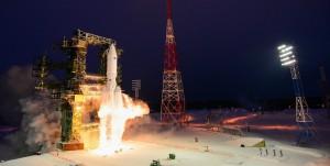 Первый запуск ракеты