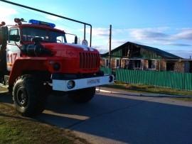 В селе Самарской области на пожаре погибли двое Удалось спасти двоих детей.