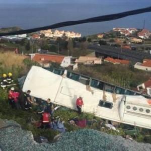 В ДТП с туристическим автобусом на Мадейре погибли 29 человек
