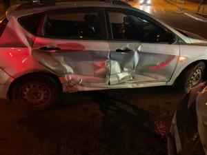 В Самаре столкнулись иномарки Hyundai и Рено, пострадала девушка