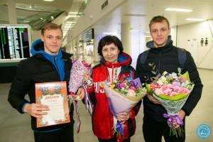 Самарские рапиристы-победители Антон и Кирилл Бородачевы вернулись в родной город