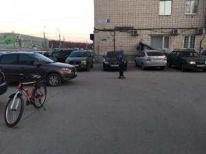 В Тольятти легковушка сбила ребенка-велосипедиста