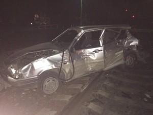 В ДТП на железнодорожном переезде в Тольятти пострадал водитель