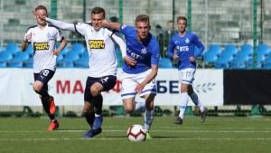 Голы: Тюкавин (1:0); Владимиров (2:0); Зорин (3:0); Новиков (3:1).
