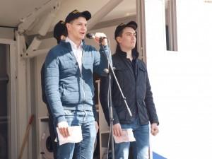 Три призывника из Промышленного района Самары будут служить в Президентском полку