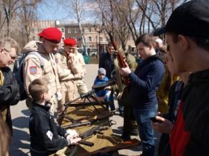 В Самаре ветераны напутствовали новобранцев