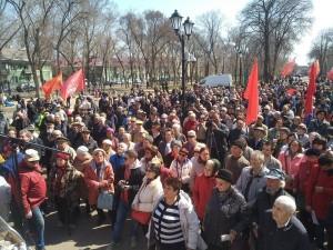 Крупный митинг против мусорного регоператора прошёл в Самаре