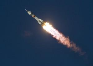 Пуск ракеты-носителя среднего класса
