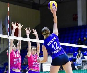 Самарские волейболистки отличились на чемпионате России