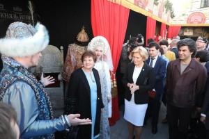 23 апреля в Нижнем Новгороде состоялась церемония передачи символа Всероссийского театрального марафона из Уральского в Приволжский федеральный округ.