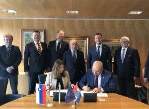 Стороны обсудили перспективные направления сотрудничества между СО и Словенией