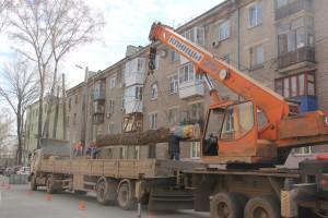 Аллея Хорошего настроения в Самаре станет солнечной  Ул.Подшипниковую освобождают от аварийных деревьев