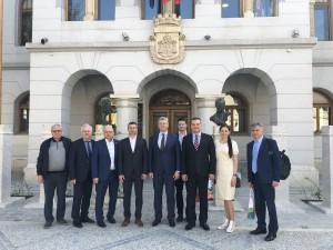Делегация Самарской области в Словении посещает город Ново Место