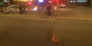 В Самаре водитель иномарки Volkswagen сбил двух пешеходов Они переходили дорогу по