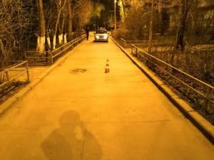 В Самаре ищут очевидцев ДТП на Партизанской Автомобиль сбил девушку.