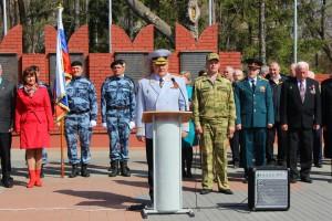 Участники Приволжского этапа Всероссийской патриотической акции «Вахта памяти. Сыны Великой Победы» прибыли в Самару