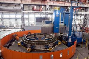 В Сызрани завершен важный этап производства первой гидротурбины для Иркутской ГЭС