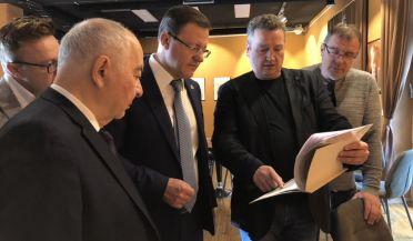 Самарская делегация в рамках официального визита в Словению посетили Центр славянских культур Франце Прешерна.