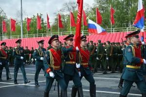 В Самаре прошла генеральная репетиция Парада Победы: ФОТО