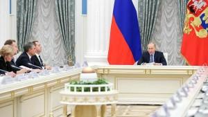 Дмитрий Азаров принял участие в заседании Совета при Президенте РФ по стратегическому развитию и приоритетным проектам