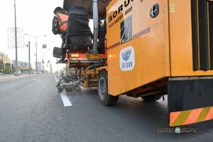 В Самарской области ведутся гарантийные работы по восстановлению дорожной разметки