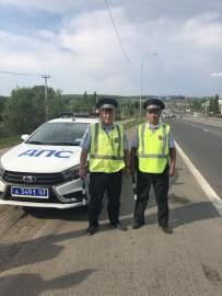 Сотрудники ГИБДД в Самаре задержали подозреваемого в краже автомобиля
