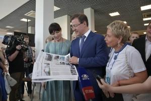 Дмитрий Азаров подчеркнул, что нацпроекты нацелены на то, чтобы граждане страны жили долго и счастливо.