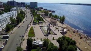 На набережной Волги в районе Полевого спуска пройдет яркий городской праздник.