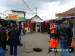 На территории Кировского рынка в Самаре незаконно взимали плату за общественный туалет