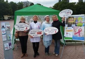 Велопробег против СПИДа прошел в Самаре