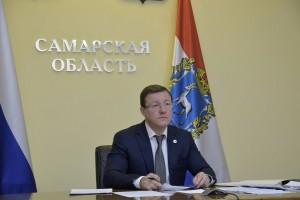 Губернатор Дмитрий Азаров принял участие в совещании, посвящённом ходу реализации национальных проектов