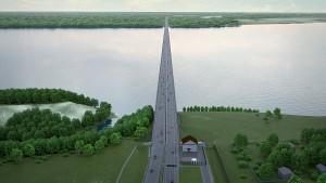Мост и автодорога в обход Тольятти планируется построить в рамках проекта создания транспортного коридора «Европа – Западный Китай».