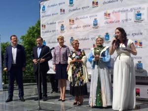 Всего в Струковском парке работали 28 площадок, каждая из которых привлекала гостей особенное программой, отражающей главную тему фестиваля – Год театра.