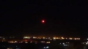 В небе над Самарой сняли странный светящийся шар
