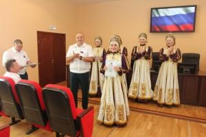 11 июня в канун празднования Дня России, в Самарской таможне состоялось торжественное собрание должностных лиц.