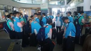 В Самару прилетели сборные по тхэквондо, плаванию, пляжному волейболу, гандболу и велоспорту.