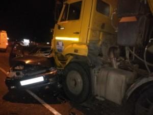 В Волжском районе в ДТП с КАМАЗом погиб мужчина