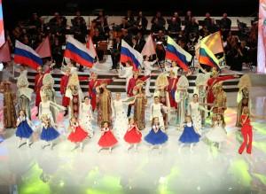 Церемония открытия VIII Молодежных Российско-китайских летних игр в Самаре: ФОТО