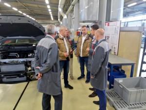 Сегодня предприятие посетили министр промышленности и торговли Самарской области Михаил Жданов и эксперты ФЦК.
