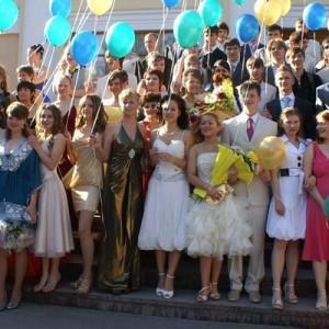В российских школ стартуют выпускные вечера